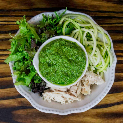 Mint Pesto Chicken Bowl