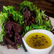 Raw Greens & Vinaigrette