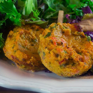 Spicy Wild Salmon Cakes