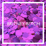 Britney Bitch Face Glitter by The Glitter Army