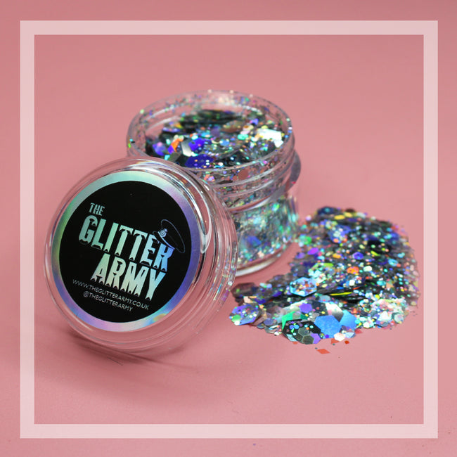 Frost festival glitter by The Glitter Army