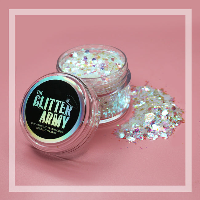 Ice Queen festival glitter by The Glitter Army
