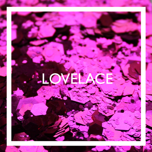 Lovelace festival glitter by The Glitter Army