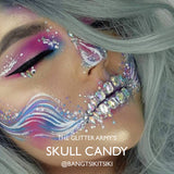 Skull Candy Halloween Face Crystals by The Glitter Army
