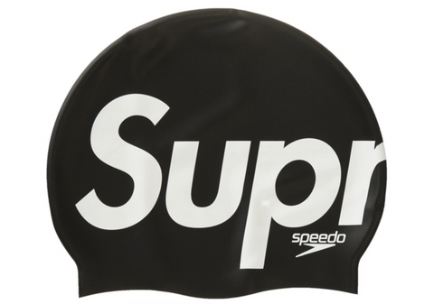 Supreme Speedo Swim Cap Black