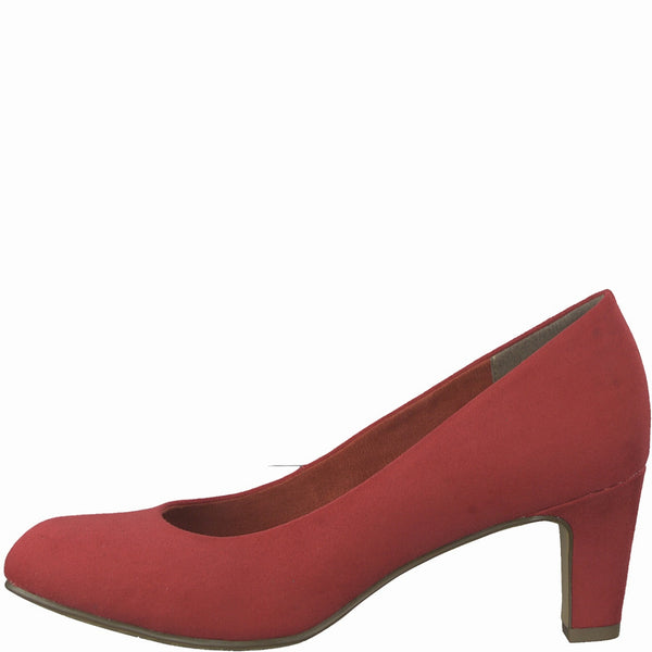 Tamaris Court Shoe 22418 - Lipstick