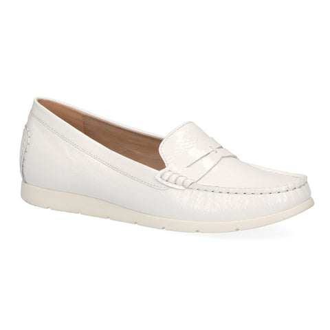 Caprice Loafer 24251 | White Patent