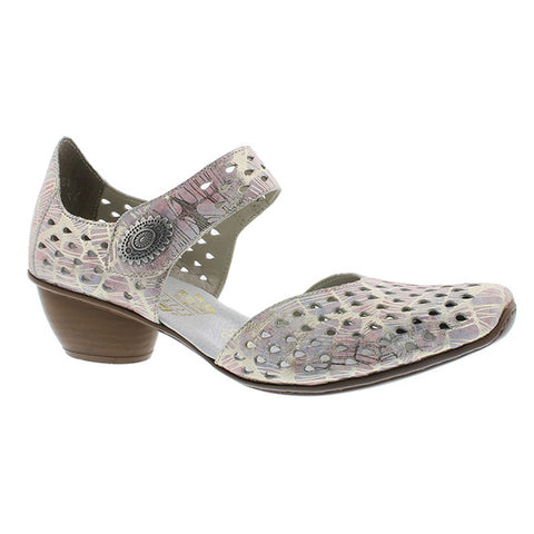 Rieker Heeled Shoes 43758-90 | Multi