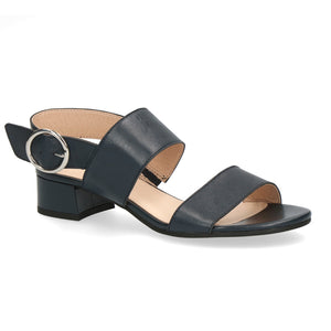 Caprice Leather Sandal 28202 | Ocean