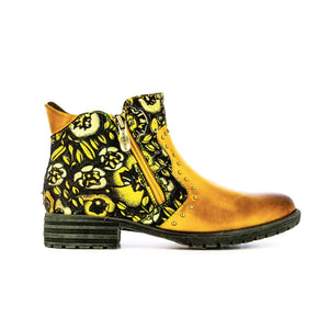 Laura Vita Gacmayo 21 | Ankle Boot | Yellow
