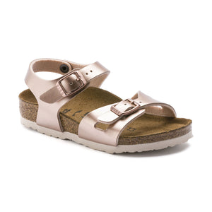 Birkenstock KIDS | Rio | Electric Metallic Copper *ONLINE EXCLUSIVE*