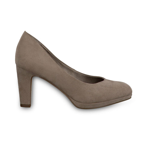 Tamaris Court Shoe 22420- Pepper