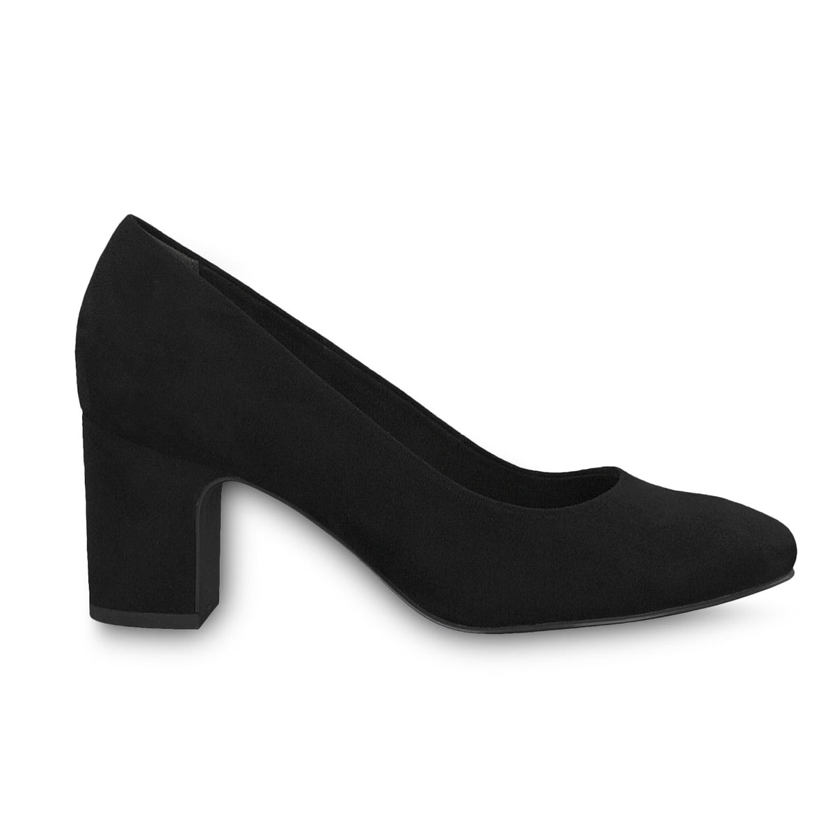 Tamaris Black Court Shoe 22458