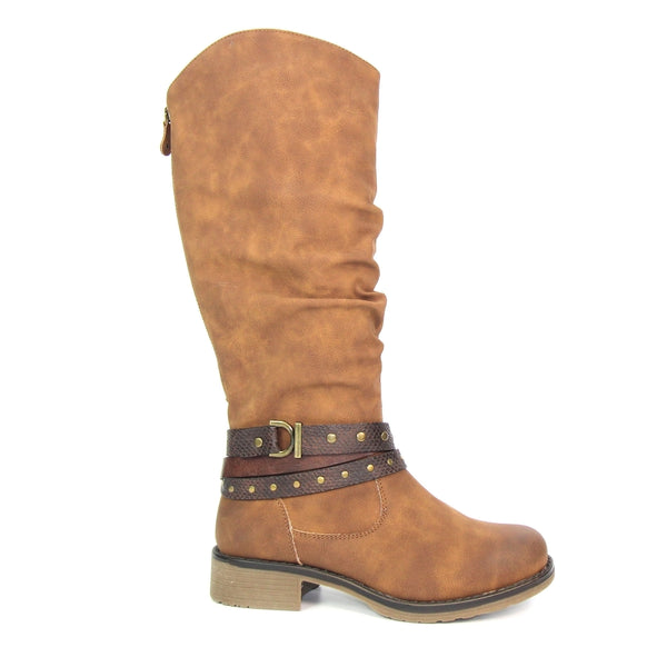 Lunar Algeria Long Boot | Tan