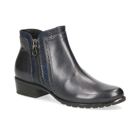 Caprice Ankle Boot | 25403 | Ocean Comb