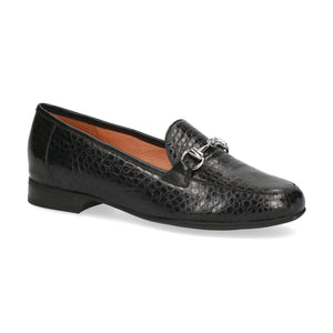 Caprice Classic Loafer | 24201 | Black Lizard