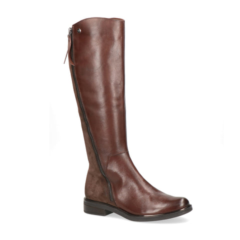 Caprice Long Boot 25516 | Dark Brown