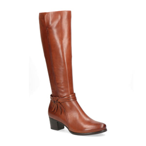 Caprice Long Heeled Boot 25517 | Cognac