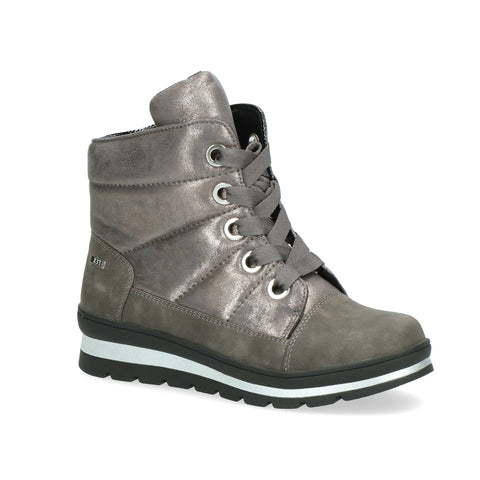 Caprice Casual Ankle Boot 26212 | Dark Grey