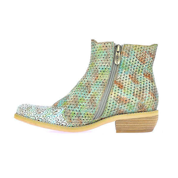 Laura Vita Ercwinao 23 Ankle Boot | Turquoise
