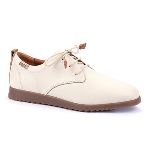 Pikolinos Soft Lace Up Shoe | Mallorca W8C-4628 | Cream