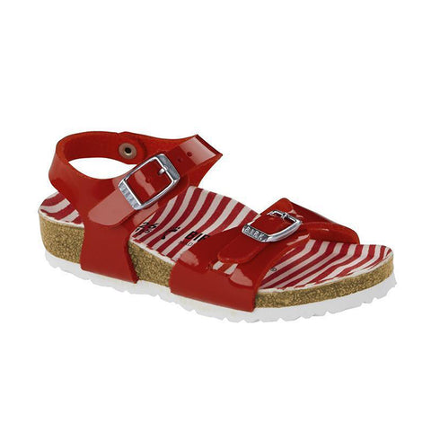 Birkenstock Kids | Rio | Nautical Stripes Red *ONLINE EXCLUSIVE