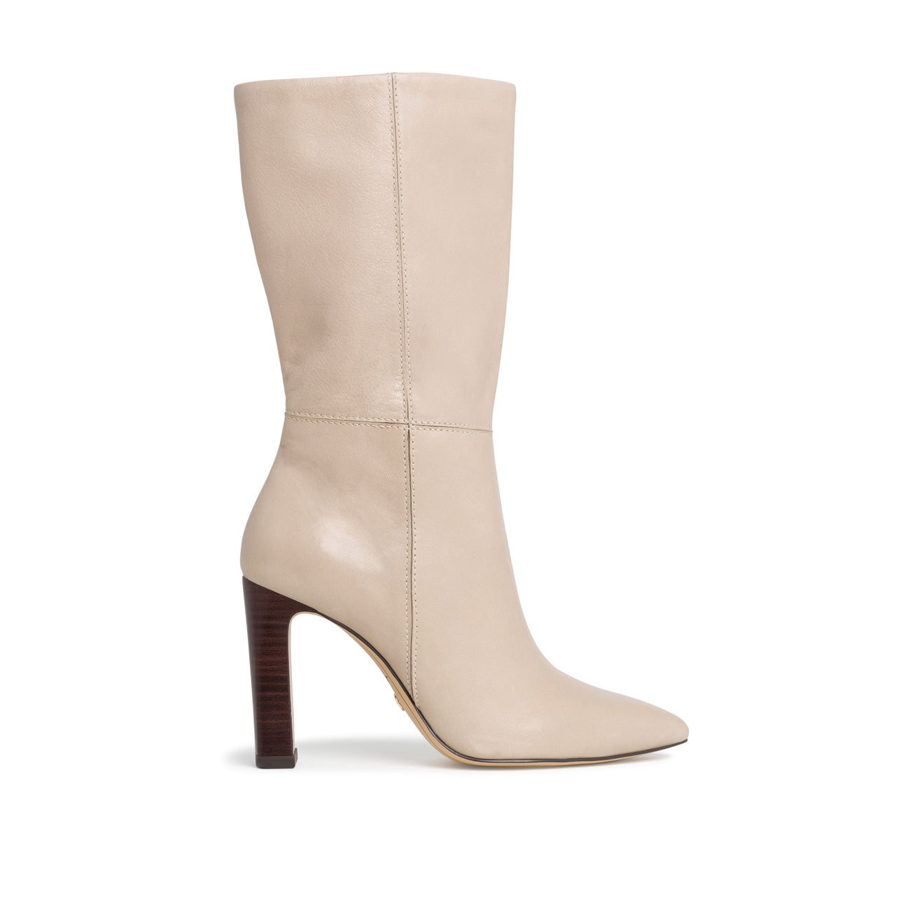 Tamaris Heeled Calf Boot | 25390 | Ivory