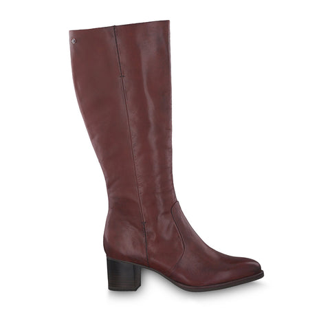 Tamaris Long Heeled Boot 25510 | Sangria