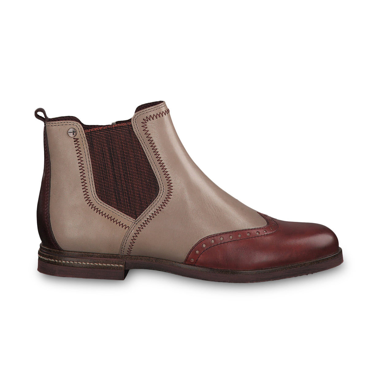 Tamaris Chelsea Boot 25027 | Shell Combination