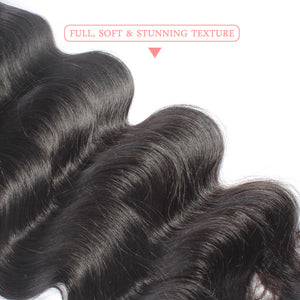 Peruvian Body Wave Weave 100% Human Hair Bundles 8-30inch 3 Piece Mixed Natural Color Virgin Hair Extension