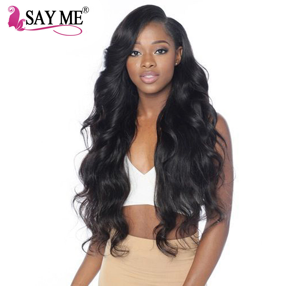 Brazilian Body Wave Human Hair Weave Bundles Deal Non Remy Human