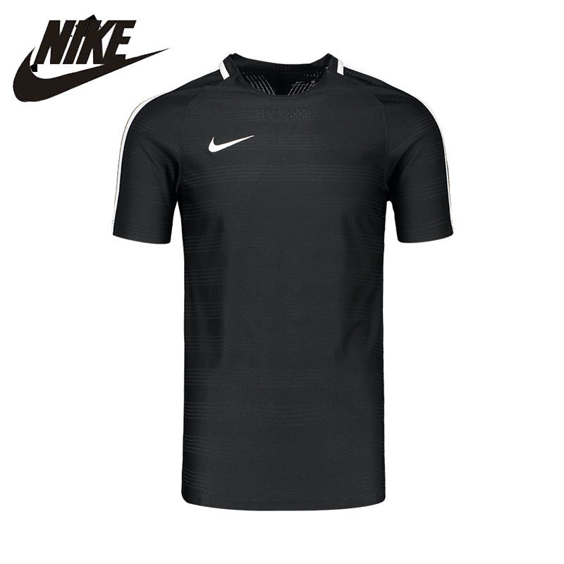 NIKE Original T-shirt 2017 New Arrival DRY SQUAD Mens Short Sleeve Breathable Flexible Sportswear For Men#844377-010