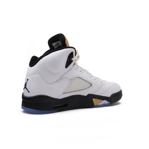 Nike Air Jordan 5 Retro AJ 5 Men's Breathable New Arrival Official Basketball Shoes Sports Sneakers 136027-133