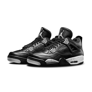 Original New Arrival Authentic Nike Air Jordan 4 Oreo AJ4 Breathable Men's Basketball Shoes Sports Sneakers