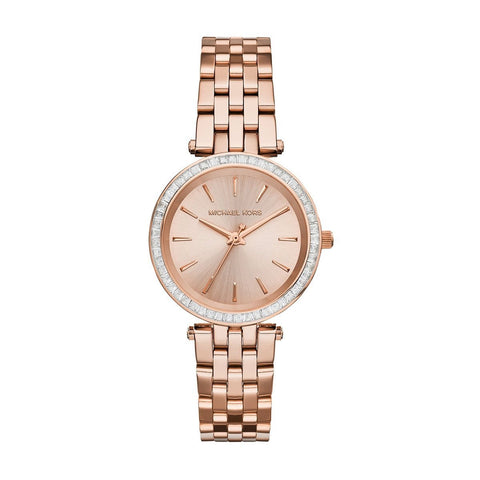 Michael Kors MK3366 Mini Darci Montre femme Or-rose