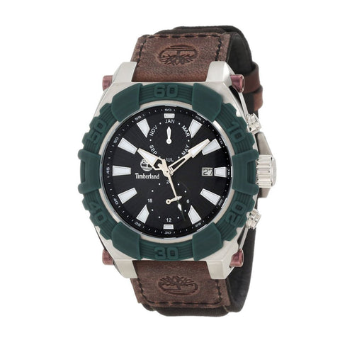 Timberland 13331JSGN/02 Hookset Montre homme multifonctions boitier acier inoxydable