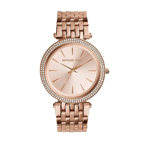 Michael Kors MK3192 Montre femme en Or-rose PVD