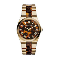 Michael Kors MK6151 Montre à quartz cadran coloris marron