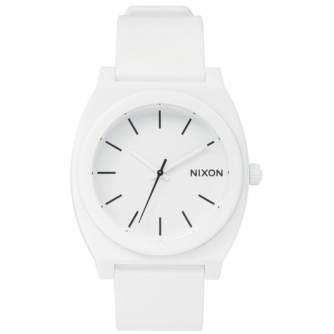 Nixon A119-1030 The Time Teller P Montre unisexe coloris blanc