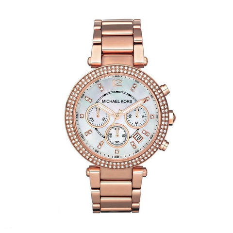 Michael Kors MK5491 Montre femme chronographe  or-rose