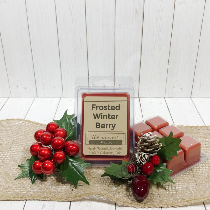 Frosted Winter Berry Melts