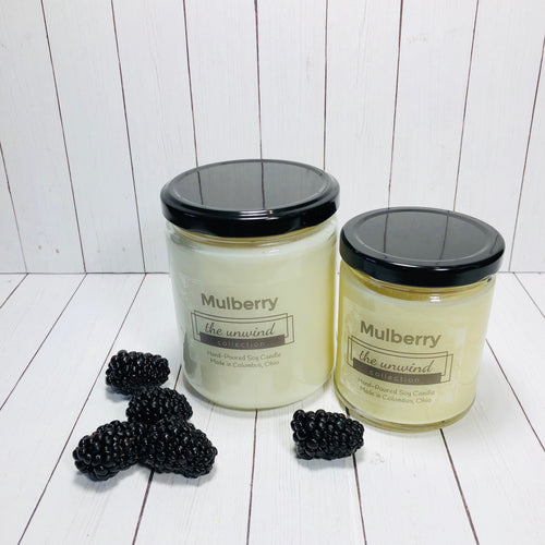 Mulberry Soy Candle