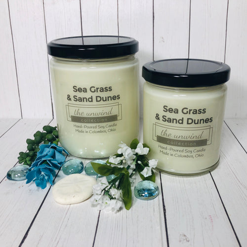 Sea Grass & Sand Dunes Soy Candle