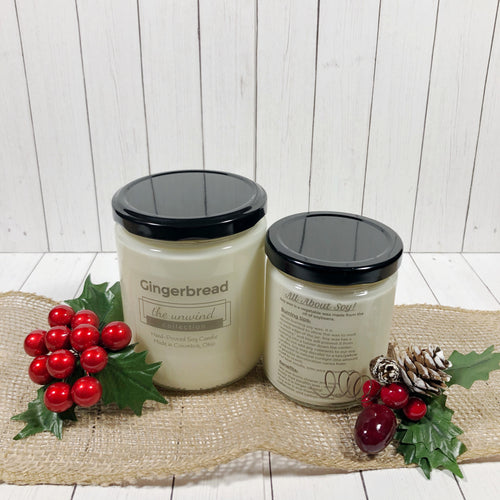 Gingerbread Soy Candle