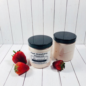 Fresh Strawberry Whipped Soap