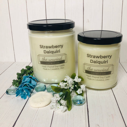 Strawberry Daiquiri Soy Candle