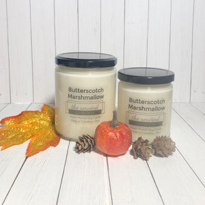 Butterscotch Marshmallow Soy Candle