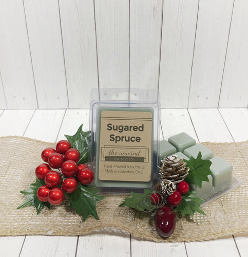 Sugared Spruce Melts