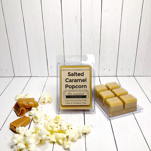 Salted Caramel Popcorn Melts