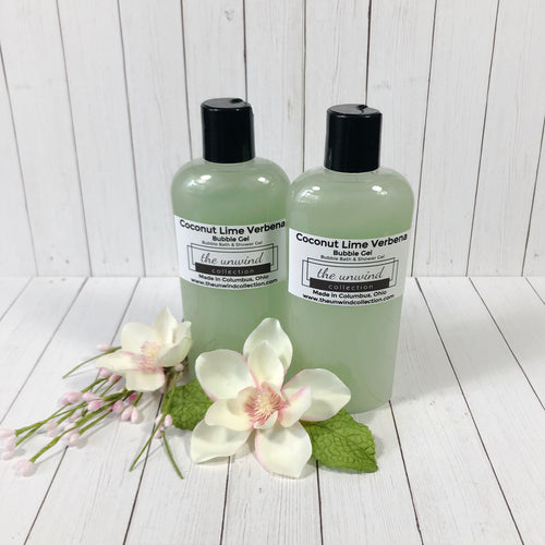 Coconut Lime Verbena Bubble Gel